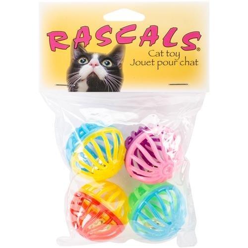 Coastal Pet Products 763901 80002R Lattice Balls 4Pk Cat