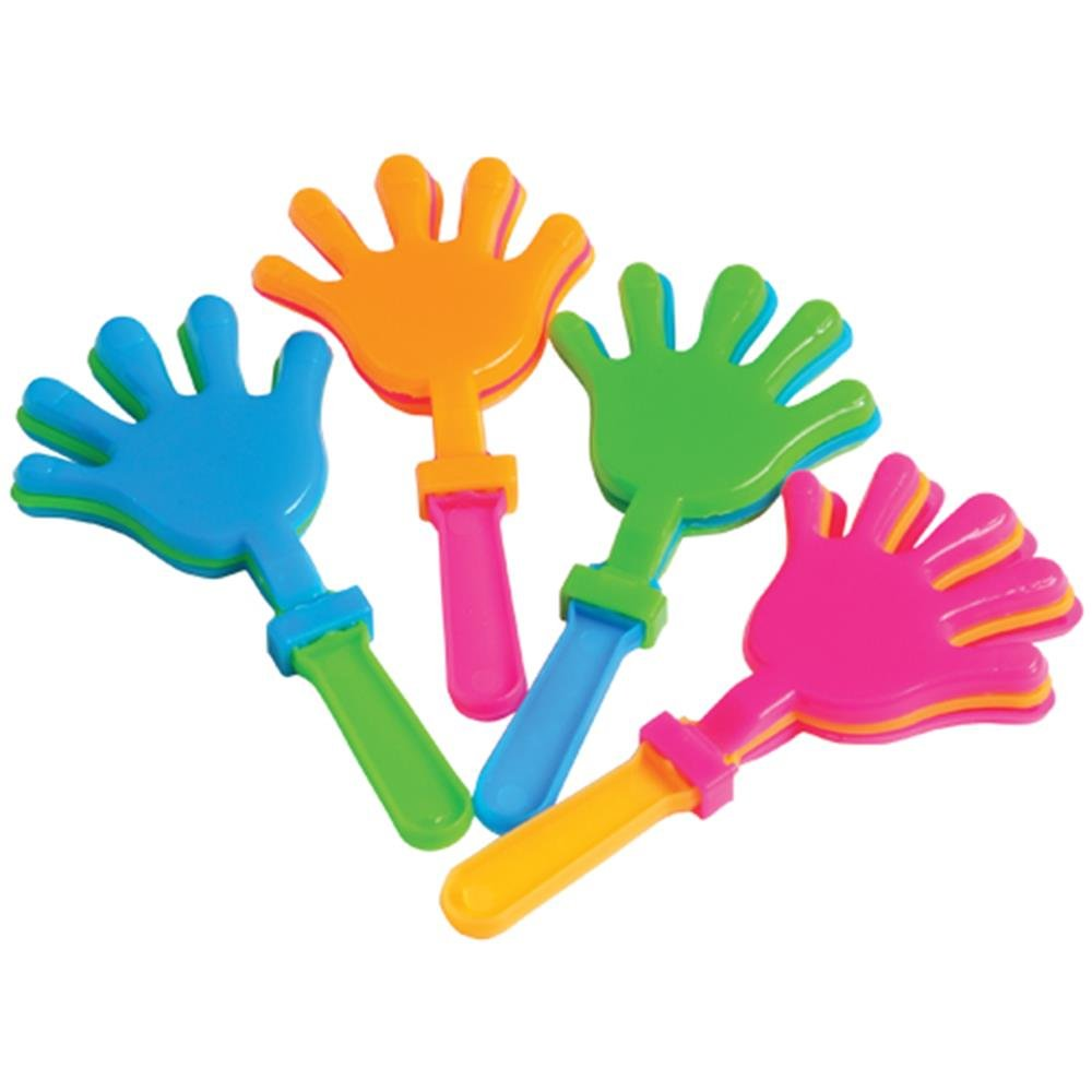 US Toy Company Le valvole di Mano - 4' , Colori Assortiti (12 / Pack) SS-UST-7465