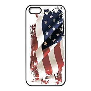 American Flag, Bold Vivid Color Design Snap-on Cover Hard Carrying Case For Apple Iphone 5 5S Cases RVNLI_W462542