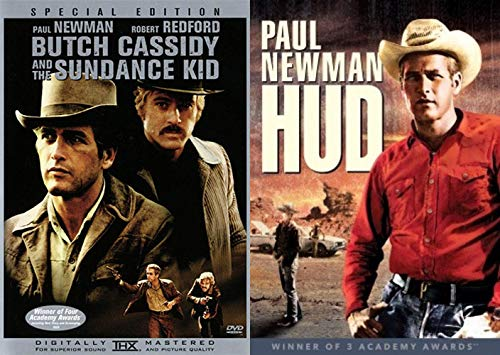 Ridding Off Into The Sunset/ Robert Redford And Paul Newman Western Pack: HUD & Special Edition Butch Cassidy and the Sundance Kid Western Double Feature DVD 2-pack