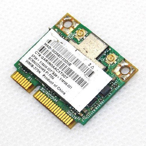 Mini Pci-e Wireless Wifi Card 802.11a/b/g/n 300m Half Size Broadcom Bcm94322hms 4322 AGN for Hp 518434-001 582564-001