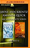 img - for Jayne Ann Krentz/Amanda Quick - Arcane Society Series: Books 1-2: Second Sight, White Lies book / textbook / text book