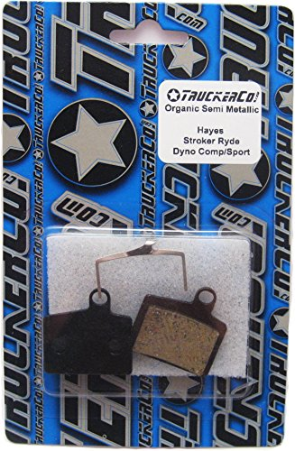 Organic Semi Metallic Disc Brake Pads Fits Hayes Models: Hayes Stroker Ryde, Ride Comp Hayes Dyno Comp, Dyno - Kit Sport Brake Disc