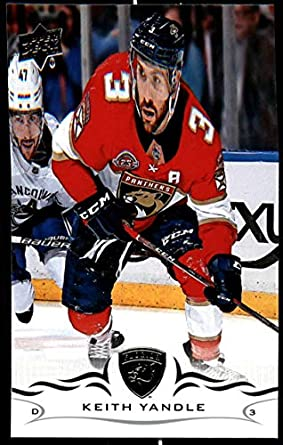 2018-19 Upper Deck Hockey Series Two  332 Keith Yandle Florida Panthers  Official UD 11f40bff7