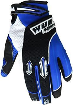 Wulfsport Children Kids Stratos Motocross Motorbike Gloves ATV Dirt Quad Bike Off Road Gloves Orange XS 7cm