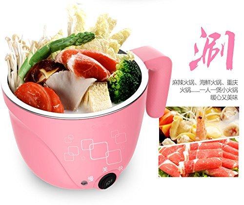 1L Electric Hot Pot with Egg Cooker, Travel Pot,Personal Pot,Cute Pot,Instant Noodles Pot,电火锅,学生锅 电火锅 学生锅 LIVEN