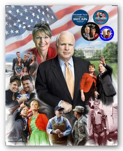 The Mavericks: John McCain and Sarah Palin by Wishum Gregory