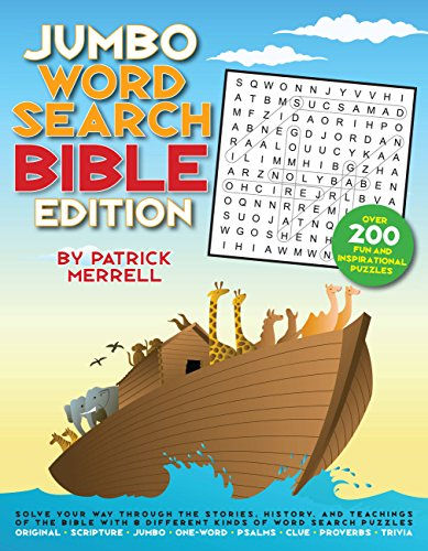 Jumbo Word Search: Bible Edition -  Patrick Merrell, Paperback