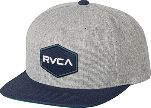 rvca-mens-commonwealth-snapback-hat-grey-heather-navy-one-size