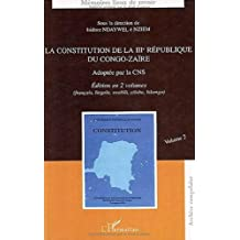 Constitution de la iiie république du co