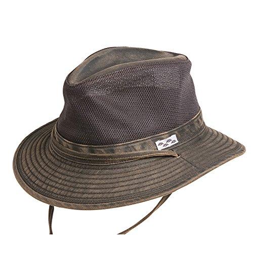 Conner Hats Men's Carolina Outdoor Summer Mesh Hat, Brown, XL from Conner Hats
