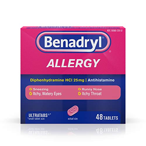 Benadryl Ultratabs Antihistamine Allergy