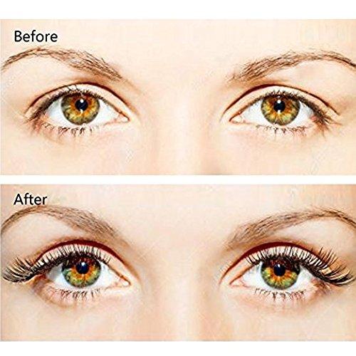 Magnetic Eyelashes 3 Magnets IMIM Magnetic False Eyelashes No Glue Magnetic Lashes Full Eye Natural Look Fake Eye Lashes Ultra Thin Reusable 3D Eyelashes (8 PCS/2 Pairs) by IMIM (Image #4)