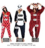 Unisex Adult Pajamas Leopard Animal Onesie