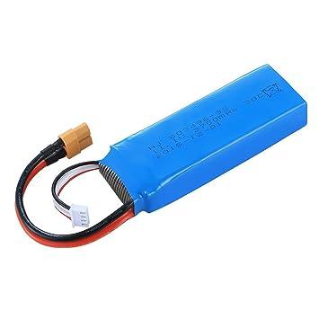 FairOnly CX-20 Battery 11.1v 2700 MHA Azul batería Externa: Amazon ...