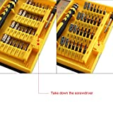 Yougai 38-piece Precision Computer Repair Tool Kit for iPad,iPhone,PC,Watch,Samsung and Other Smartphone Tablet Computer Electronic Devices
