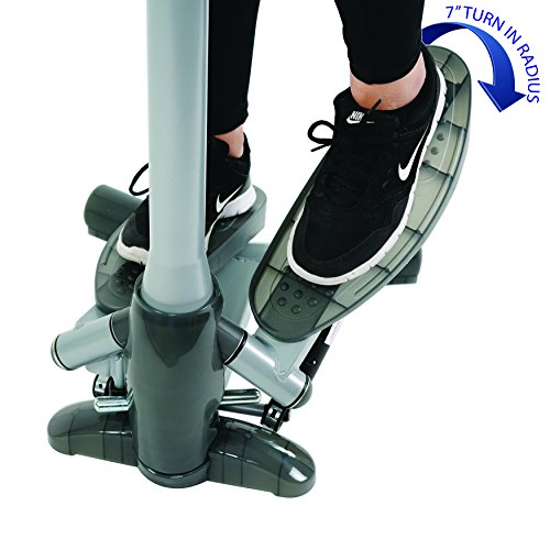Sunny Health & Fitness SF-S0637 Twist-in Stepper Step Machine w/Handlebar LCD Monitor