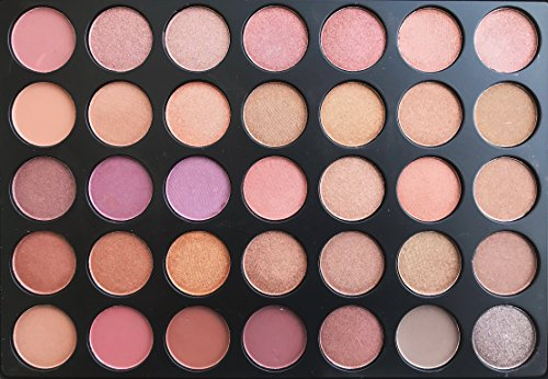 The Beauty Box Artist Eyeshadow Palette- 35 COLORS
