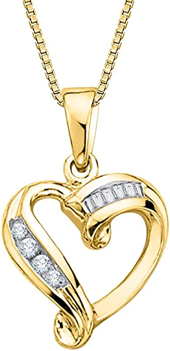 Size-10.75 1//10 cttw, G-H, I1-I2 KATARINA Light Weight Channel Set Diamond Ring in 10K White Gold