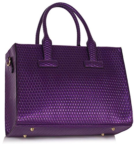 ANNA GRACE - Bolsa Mujer Design 1 - Purple