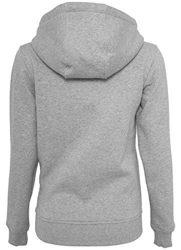 Merchcode - Sudadera con capucha - Manga Larga - para mujer gris