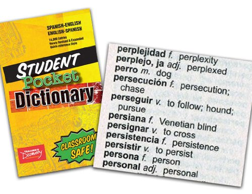 Spanish Student Dictionary Case of 72 (2011) by Teacher's Discovery