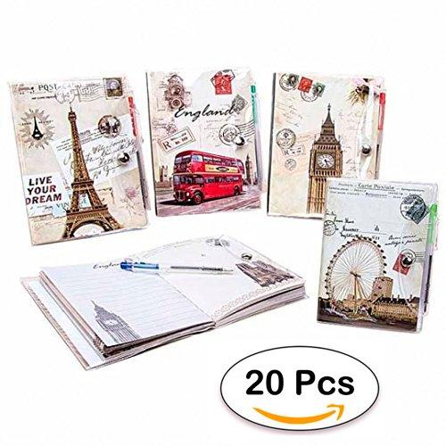 Lote de 20 Libretas Notas Pvc Postale Detalles, Regalos y Recuerdos Bodas - Libretitas para Detalles de Bodas Baratas, Comuniones, libretitas Cumpleaños ...