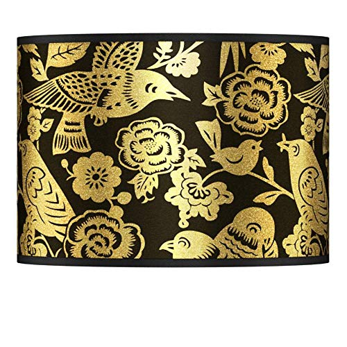 Thomas Paul Aviary Gold Metallic Lamp Shade 13.5x13.5x10 (Spider)