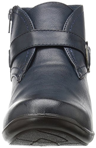 Easy Street Women's Banks Ankle Bootie Navy bx07UDs