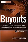 img - for Buyouts, + Website: Success for Owners, Management, PEGs, ESOPs and Mergers and Acquisitions book / textbook / text book