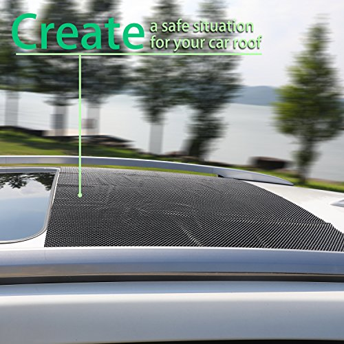 Egofine Car Roof Protective Mat Car Roof Carrier Bags Extra Padding Car Roof Mat Under Any Rooftop Cargo Bag by Egofine (Image #1)