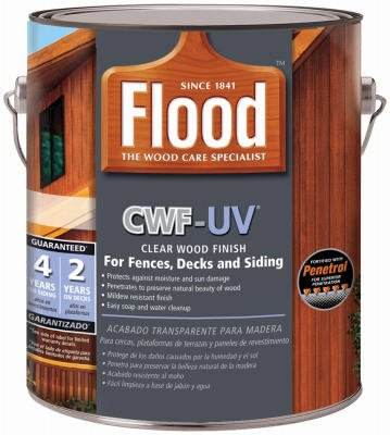 CWF-UV FLD521-01 Oil-Based Wood Finish, 1 gal, 150 - 250 sq-ft, Redwood, Alcohol-like - - Amazon.com