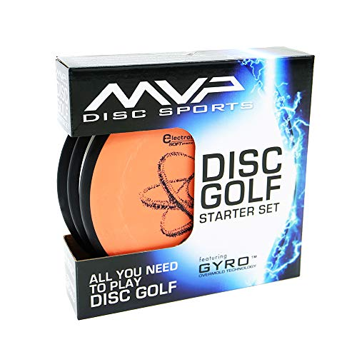 MVP Disc Golf Starter Set Electron Set of 3 Discs by MVP Disc Sports