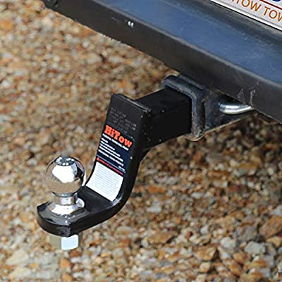 HiTow Trailer Hitch Loaded Ball Mount Class III/IV 4