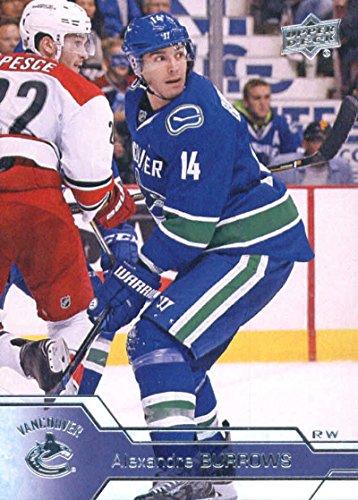 2016-17 Upper Deck Series 2 Hockey #430 Alexandre Burrows Canucks (2016 17 Upper Deck Series 2 Hockey)