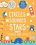img - for Sticker and Draw Circles, Squares, Stars (Start Little Learn Big) book / textbook / text book