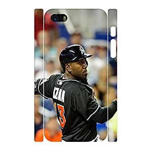 Photo Series Trendy Abstract Cool Baseball Player Pattern Skin for Iphone 5 5s Case