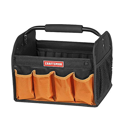 Craftsman 12 in. Tool Tote - Orange