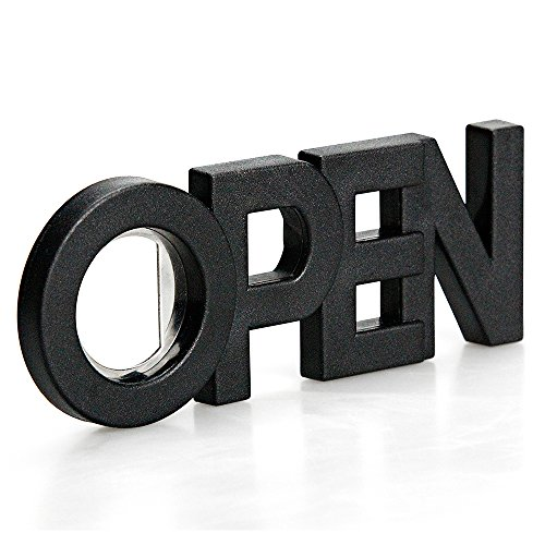 Sansukjai 2 in 1 Black Bottle Opener and Magnet, Wall Mounted Bottle Opener, Modern Design, - Sunglasses Electric Nz