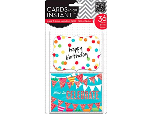 MAMBI Cards In An Instant Happy Birthday -