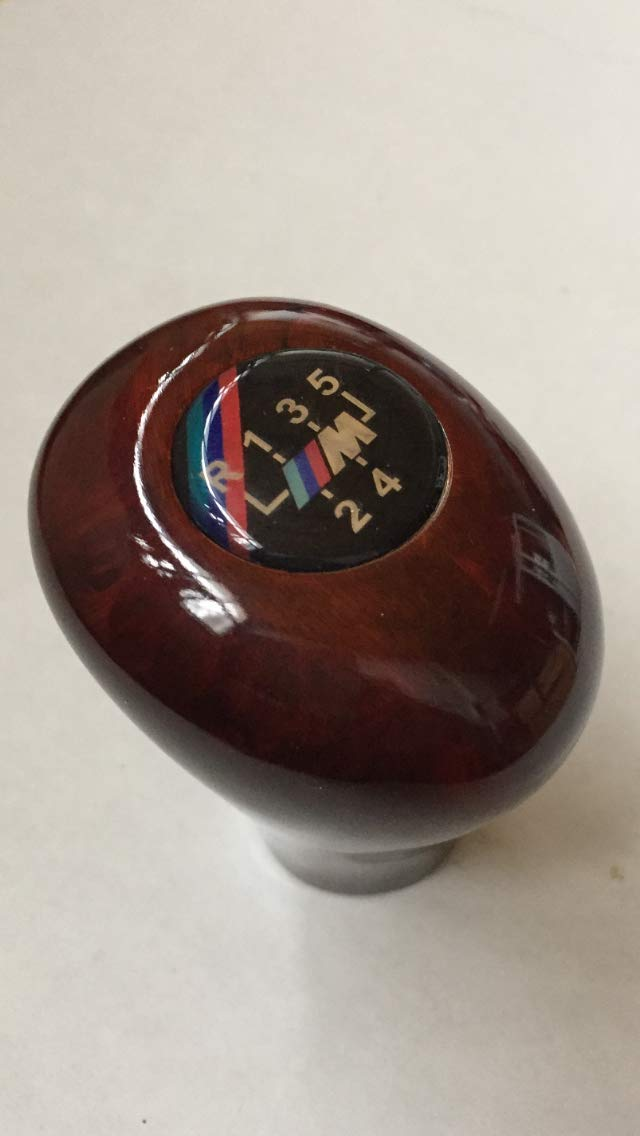 Tr-0089654548787 8 no hacollWood Gear Shift Knob for BMW 5 Speed Handle for 3 5 7 Series M E36 E46 E34 E30 E46 E90