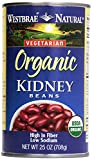 Westbrae, Natural Kidney Beans, 25 oz