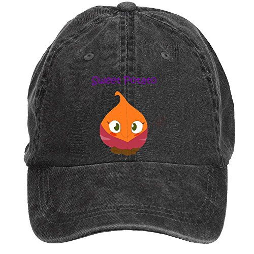 Sungboys Unisex Sweet Potato Sports Baseball Hats Caps (Maize Fedora Hat)
