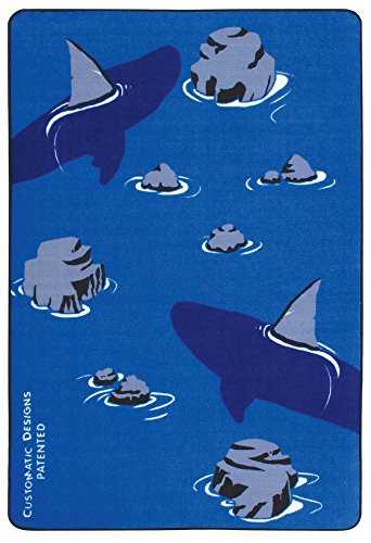 Norbert's Athletic Products Ninja Shark Carpet Mat, Multicolor
