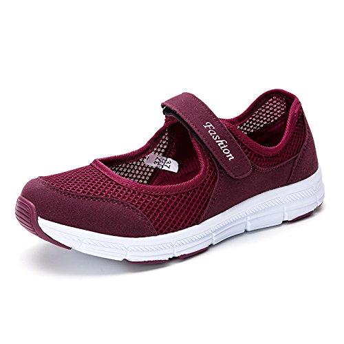 Malla de Zapatos Malla de Zapatos Calza Transpirables Ocio Suaves Deportivos de del Zapatos Hasag Zapatos los Madre del Verano Red Inferior Parte dates la qWRww7aTO