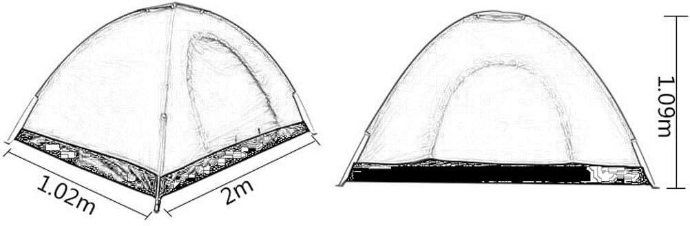 JM- Carpa para Exteriores, Carpa emergente instantánea para Exteriores con Forma de cúpula: configuración fácil y automática - Refugio Ideal para Acampar en Familia Informal A