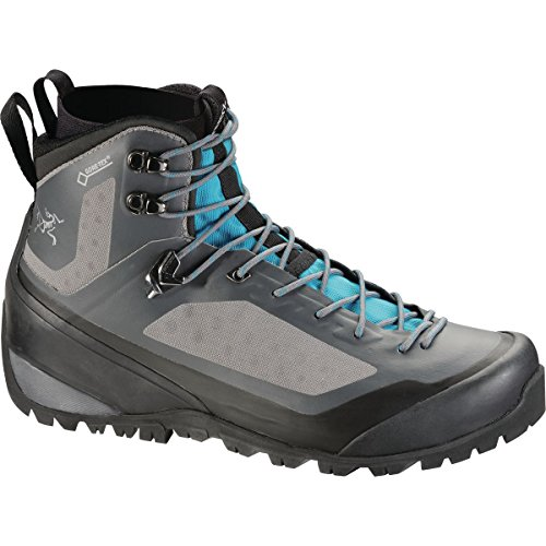 ARCTERYX Bora2 Mid Hiking Boot - Womens Boots 7 Light Graphite/Big Surf by ARCTERYX