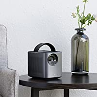 Nebula Mars Portable Cinema, Home Theater, 150 in HD Picture, 500 ANSI Lumens, 4K and 3D Support, with Wi-Fi, Two 10W Speakers, 3-Hour Playtime, DLP, and Android 4.4 for Music, Movies, and More by Anker