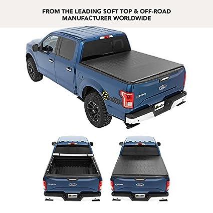Bestop 18170 01 ZipRail Tonneau Cover For 2004 2018 Nissan Titan King Cab (