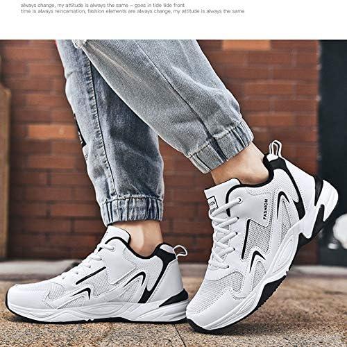 Damestrainers rustgevende correctie ademende schoenen, schokabsorberende lichtgewicht schoenen, outdoor reizen mannen en vrouwen paar schoenen, wit,EUR47/285MM